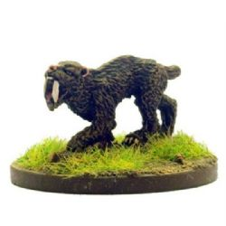 Chariot Miniatures 15mm Fantasy CFB1 Sabre-Tooth Tigers (x 4)